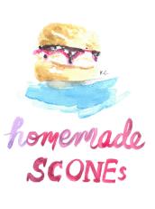scone illustration